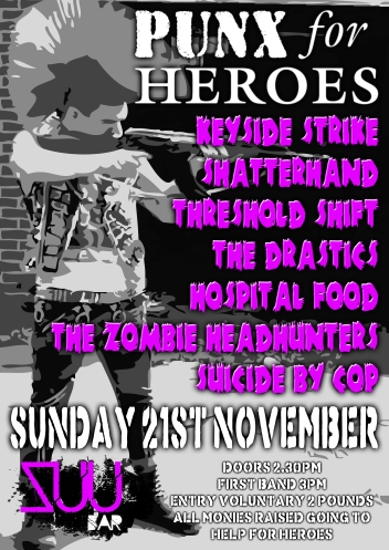 Punx For Heroes Flyer copy