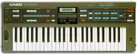 Casio CZ1000. The first instrument I ever owned